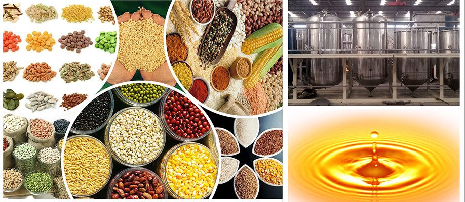 Rice bran oil mill plant With good quality