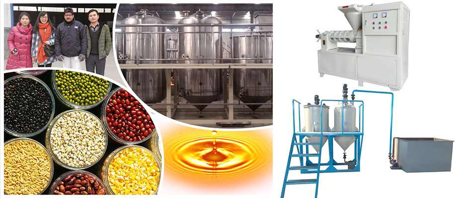 Canola Cotton Oil Press Machine