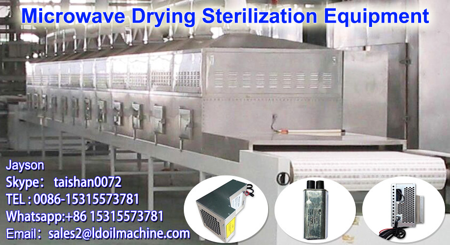 Inteligent Temperature Microwave Cordyceps / herbs drying Machine/Dryer Machinery