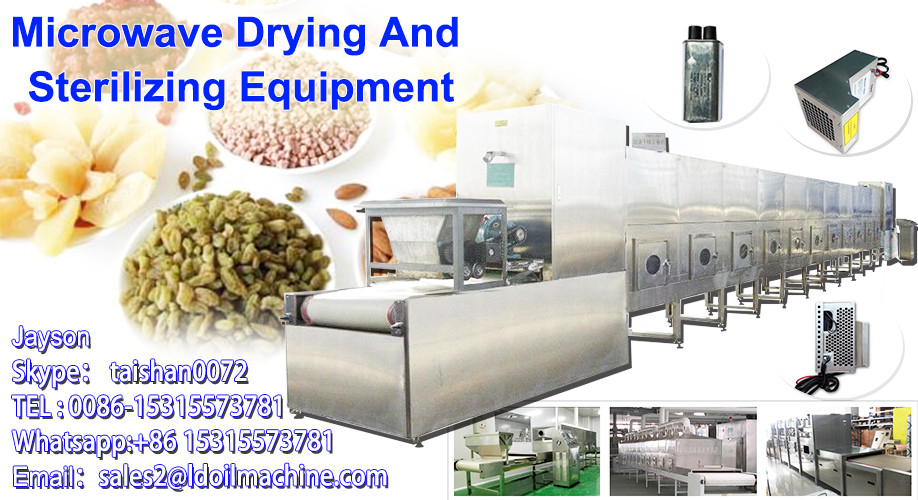 Full automatic industrial microwave egg yolk powder drying/sterilizing machine