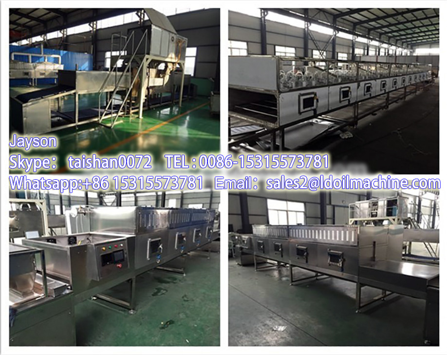 Easy to operate industrial Microwave Microwave LD cassava flour processing machine/ Cassave Microwave LD