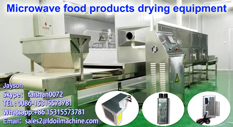 Belt type microwave fast food sterilization machine/sterilizing equipment