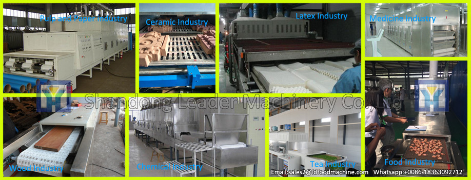 Industrial charcoal briquette drying machine,clay brick dehydrator
