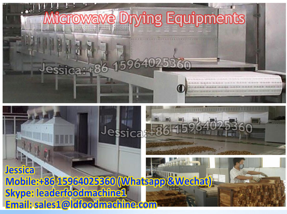 Factory direct sales semen cassiae sprout continuous microwave drying machine