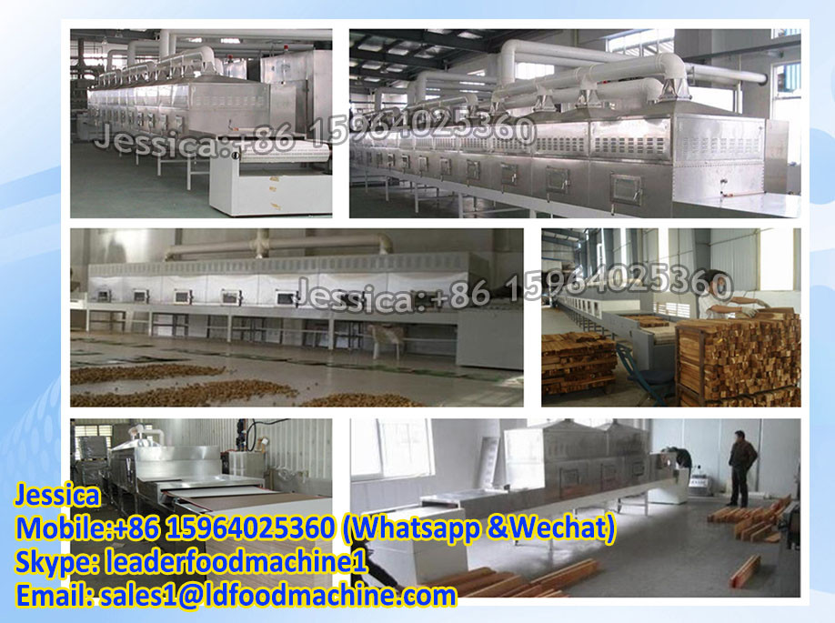 Industrial tunnel conveyor belt microwave dryer machine for egg tray