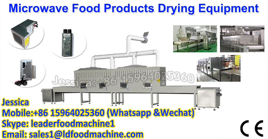Low cost microwave drying machine for Chervil Larkspur Herb