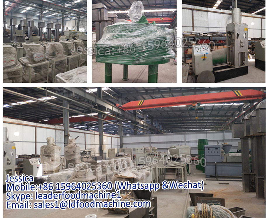 Made by LD Chemical engineering equipment castor oil pressing plant