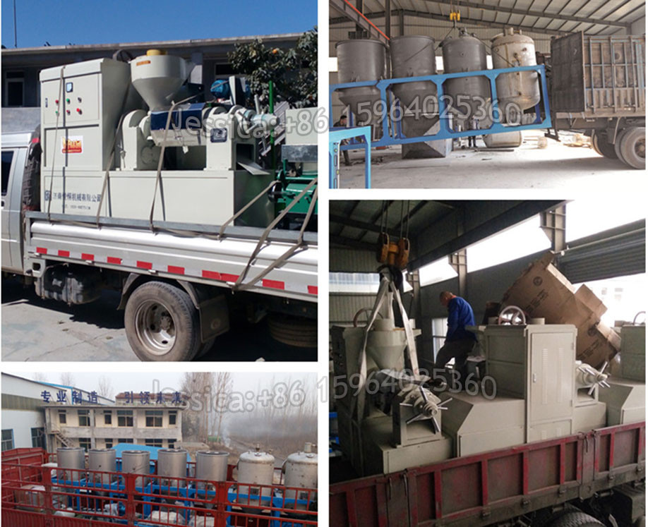 Turn key refined edible oil production machinery