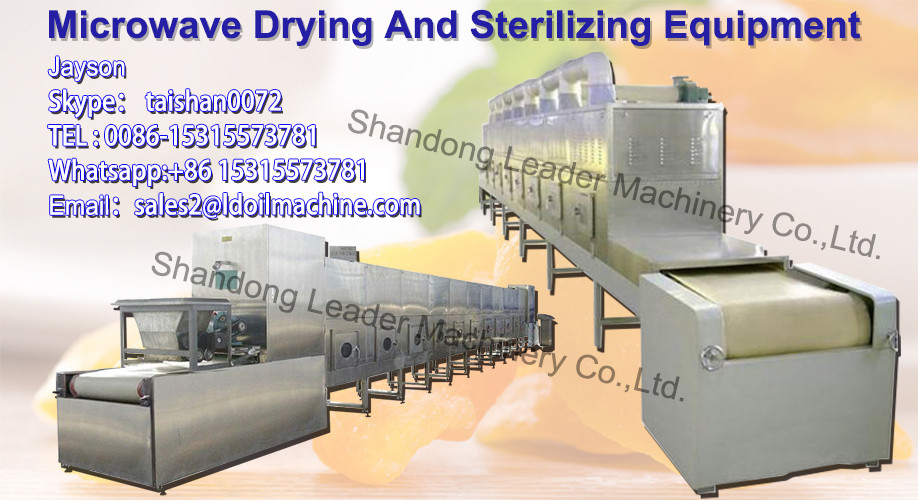 GRT Microsilica tunnel microwave drying machine/Microsilica sterilization machine/powder microwave drying and sterilizer