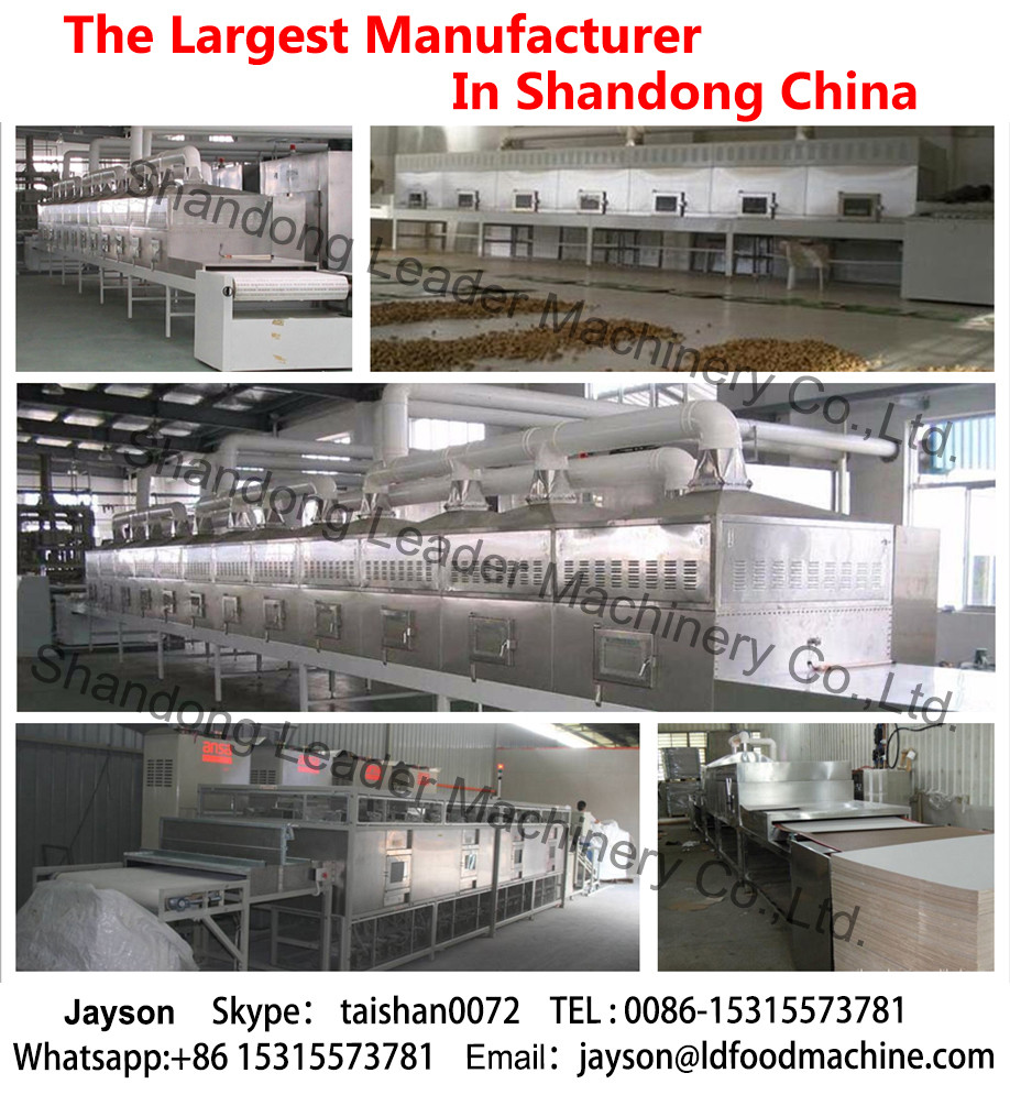 industrial leaves fruit & vegetable processing drying dehydrator belt Microwave LD machines