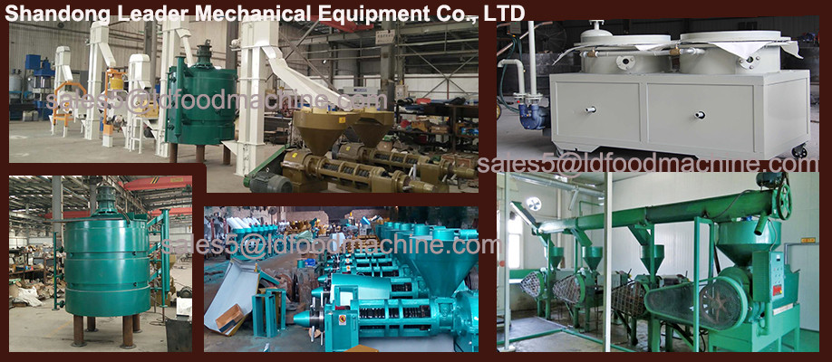 Long using life 100TPD sesame oil grind machinery
