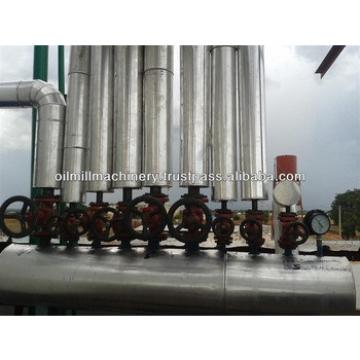 Crude vegetable oil refinery plant with high quality