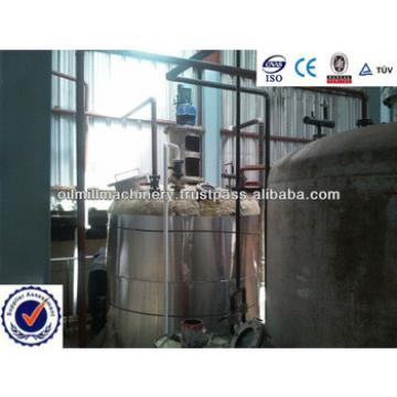 Crude vegetable oil refining machine