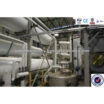 Qualified complete edible oil refinery plant