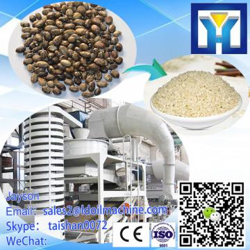 corn decorticating and threshing machine