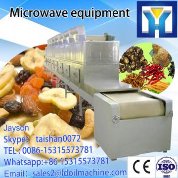 Industrial microwave heating machine for paper cups