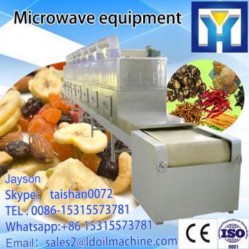 microwave green tea drying sterilization machine