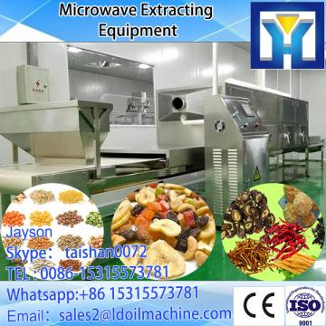 Big capacity conveyor tunnel type microwave beef dryer