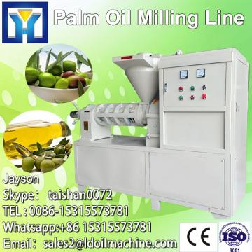 Continuous type crude flexseed oil refinery equipment with competive price