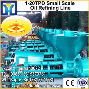 Crude oil distillation refining machine for edible oil processing plant