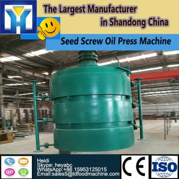 Continuous system crude copra cooking oil refining plant with PLC control