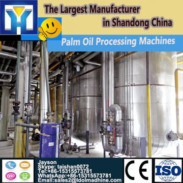 1-10TPD rice bran crude oil refining plant