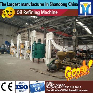 2-4 Tanks edible oil groundnut oil refining plant machine, oil refining plant with LD material
