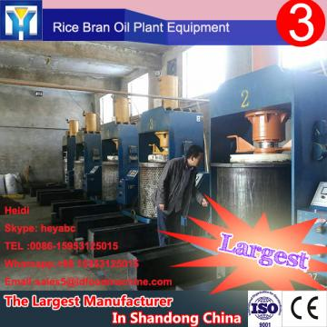 High performance machine to refine peanut oil