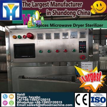 Continous conveyor microwave pepper/chilli powder drying machine