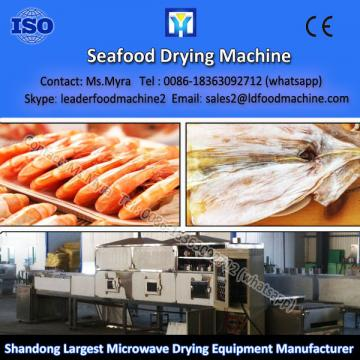 Commercial microwave dried fish / shrimp dryer machine with hot air circulating system