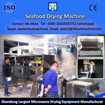 Electric microwave Big capacity hot wind drying anchovy machine