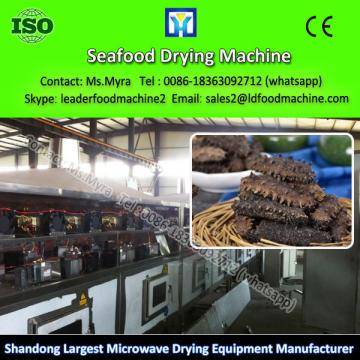 seafood microwave dryer/widely used tray dryer machine