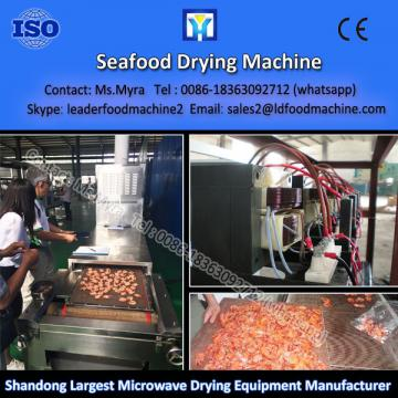 Automatic microwave PLC Control cocoa beans processing herb drying machine