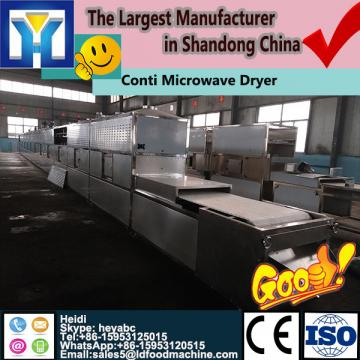 Professional continuous microwave dryer for teas spice