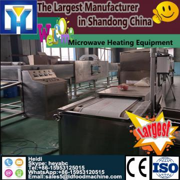 Tunnel nut microwave dryer/baking/roasting machine SS304