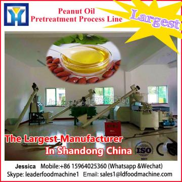 Semi-continuous crude vegetable oil refinery equipment