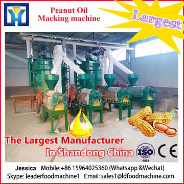 Certified supplier low consumption groundnut oil making mill