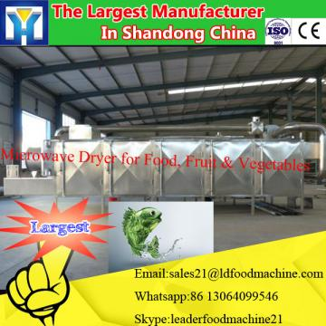 Tunnel Industrial microwave dryer machine for deep drying and sterilizing