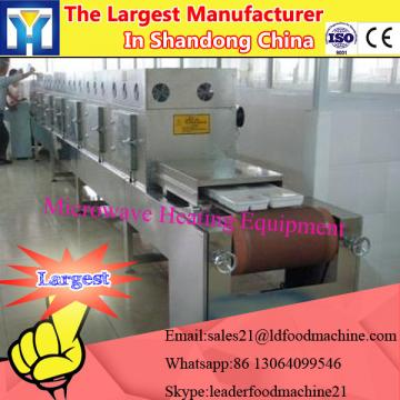 continuous Microwave Vacuum Drier for drying cocopeat Green Tea rose flower