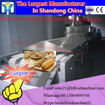 Microwave drying and sterilizing dryer for snack food