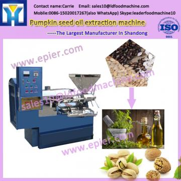 Continuous and automatic lower power needed high quality peanut oil production plant