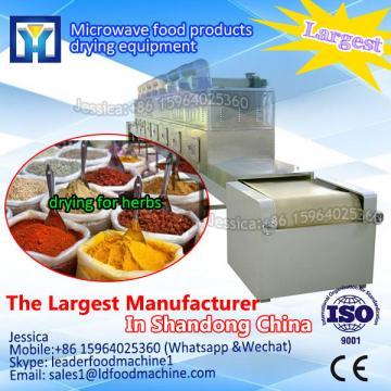 Continuous microwave paprika powder sterilizer machine