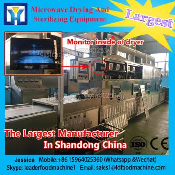 Continuous microwave for Saury dryer/ Saury drying machine