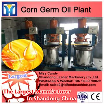 Imput 2tons raw material/h sunflower oil extraction