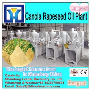 China most advanced edible peanut crude oil refining machine