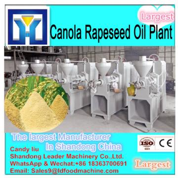 crude plam oil refinery equipment with fractionation