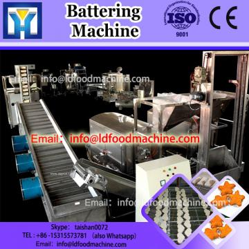Popular Automatic Beef and Chicken Nuggets Meat Popcorn Battering machinery