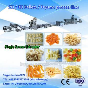 crisp fryums 3d 2d pellets  processing machinery