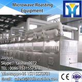 Continuous microwave drying and sterilizing oven for pet food