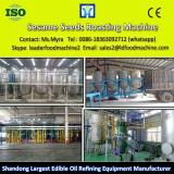 Crude mustard seed oil refining plant with low consumption